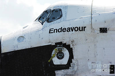 The Space Shuttle Endeavour 2 Art Print by Micah May