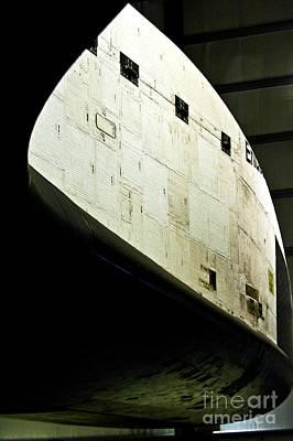 The Space Shuttle Endeavour At Its Final Destination 24 Art Print