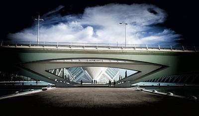 Photograph - The Spaceship by Herbert Seiffert