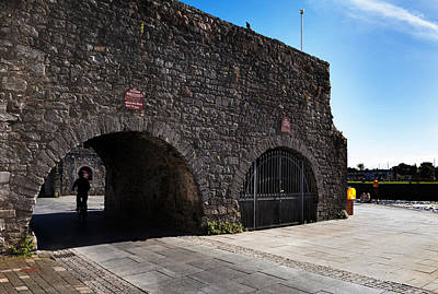 Eire Photograph - The Spanish Arch, Galway City, Ireland by Panoramic Images