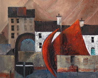 The Spanish Arch  Galway Art Print