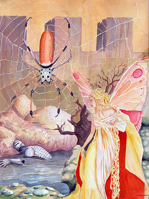 Painting - The Spider by Katherine Miller
