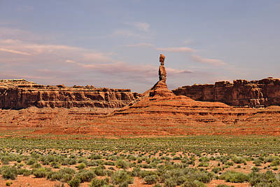 Photograph - The Spindle - Valley Of The Gods by Christine Till
