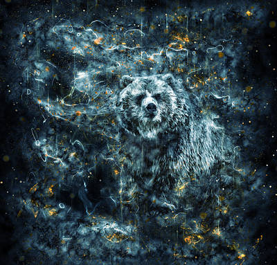 Photograph - The Spirit Bear by Ray Van Gundy