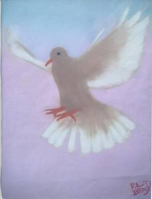 The Spirit Descendedlike A Dove. Art Print by Robert Bray