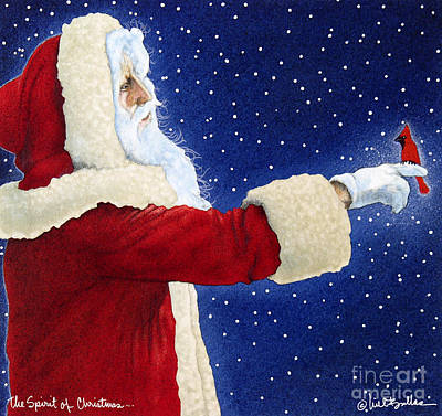 The Spirit Of Christmas... Art Print