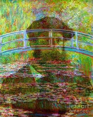 The Spirit Of Claude Monet Famous Artists Series Original