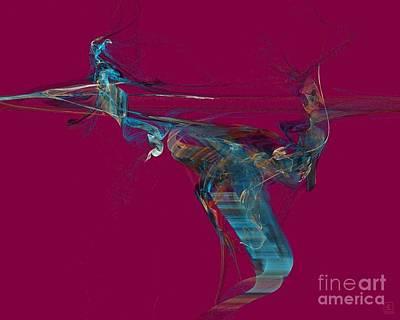 Artport Digital Art - The Spirit Of Dance 1 by Jeanne Liander