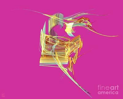 Artport Digital Art - The Spirit Of Dance 2 by Jeanne Liander