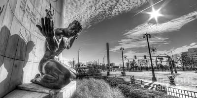 The Spirit Of Detroit Print by Twenty Two North Photography