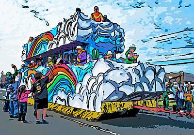 Thor Digital Art - The Spirit Of Mardi Gras by Steve Harrington