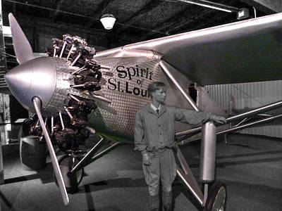 Ww2 Photograph - The Spirit Of St. Louis by John Straton