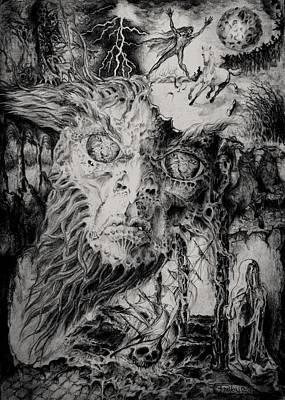 The Spirit Of The Last Storm Art Print