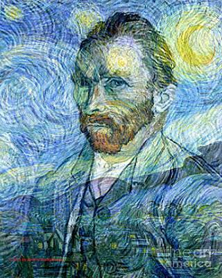 The Spirit Of Vincent Van Gogh Famous Artists Series Original