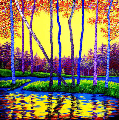 Painting - The Splendor Of Nature by Randall Weidner