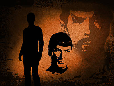 The Spocks Art Print
