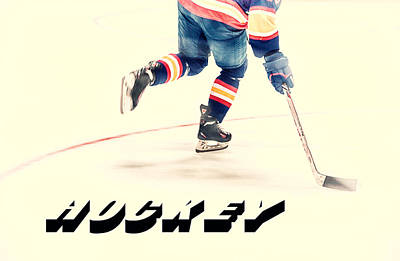 Photograph - The Sport Of Hockey by Karol Livote