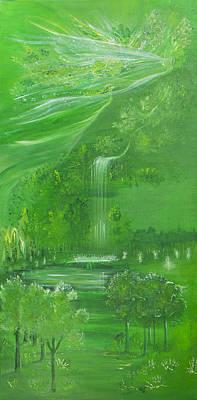 The Spring Art Print by Barbara Klimova
