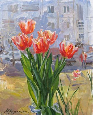 The Spring Comes Again Original by Victoria Kharchenko