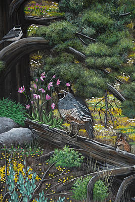 Painting - The Spring Meeting by Jennifer Lake