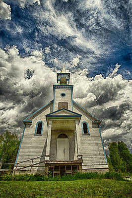 Gichigami Photograph - The Squaw Bay Church by Jakub Sisak