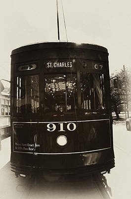The St. Charles Line Art Print by Bill Cannon