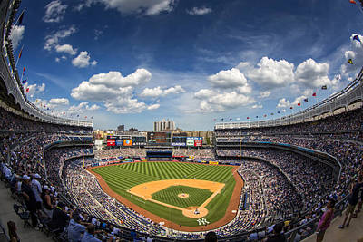 New York Yankees Photograph - The Stadium by Rick Berk