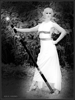 Photograph - The Staff Of Athena by Jon Volden