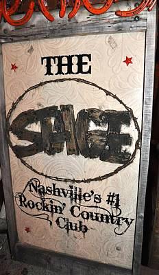 The Stage Nashville Art Print by Toni Ryder
