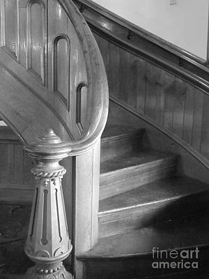 Photograph - The Staircase by Barbara Bardzik
