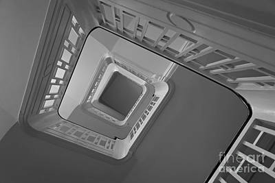 Art Print featuring the photograph The Staircase by Inge Riis McDonald