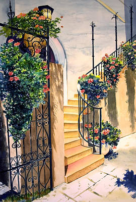Painting - The Stairway by Phyllis London