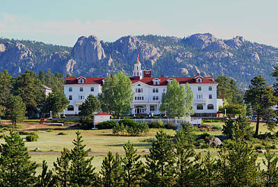 Artist Christine Belt Photograph - The Stanley Hotel by Christine Belt