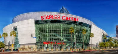 Staples Center Photograph - The Staples Center by Mountain Dreams