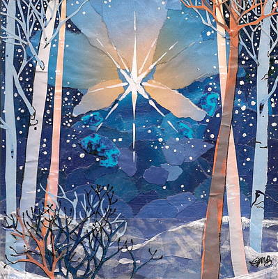 Mixed Media - The Star by Robin Birrell