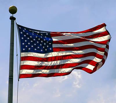 4th July Digital Art - The Star Spangled Banner by Daniel Hagerman