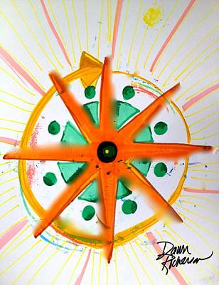 Visionary Art Drawing - The Star You Are by Dawn Richerson