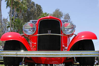 Art Print featuring the photograph The Stare Of A V8 by Shoal Hollingsworth