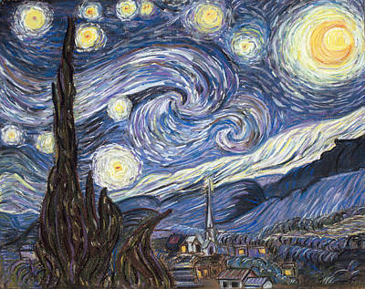 Painting - The Starry Night by Dale Bernard