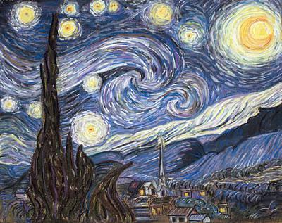 The Starry Night Art Print