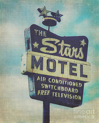 The Star's Motel In Chicago Art Print by Emily Kay