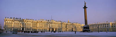 The Hermitage Photograph - The State Hermitage Museum St by Panoramic Images