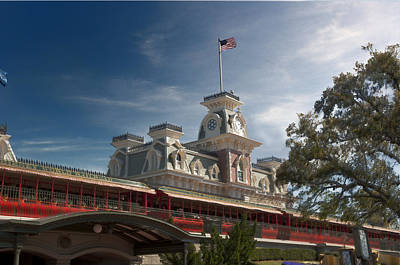Disney Photograph - The Station by Ryan Crane