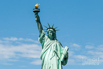 Photograph - The Statue Of Liberty  by Anthony Sacco