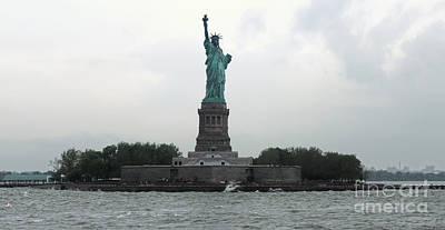 Photograph - The Statue Of Liberty by Gregory Dyer