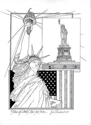 The Statue Of Liberty Original