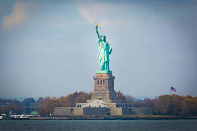 Photograph - The Statue Of Liberty by Kenneth Cole