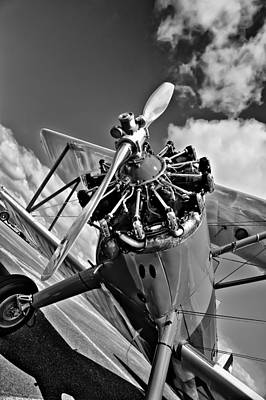 The Stearman Airplane Art Print by David Patterson