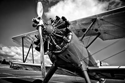 The Stearman Biplane Art Print