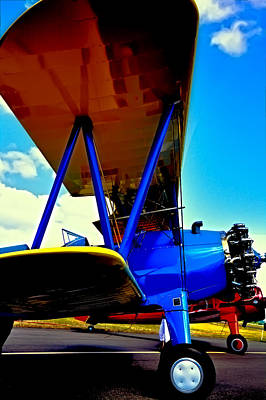 Airplane Photograph - The Stearman IIi by David Patterson